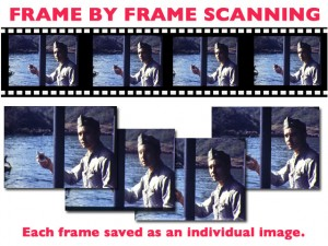 Digital Film transfer Frame by frame scanning