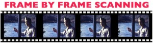 frame by frame scaning for movie transfer