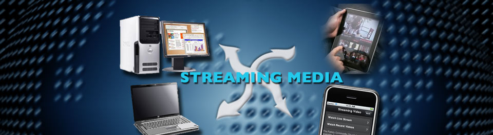 Streaming Media Services for Web