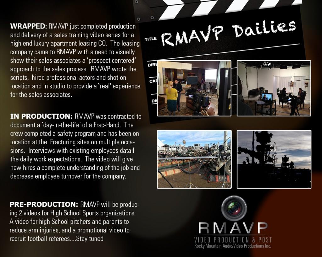 RMAVP Video Production Dailys 4_15