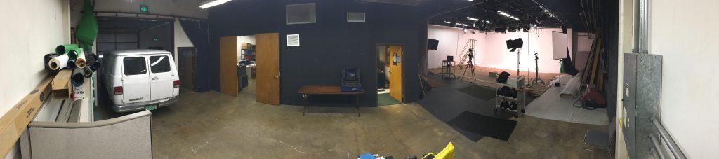 Panorama view Studio 1