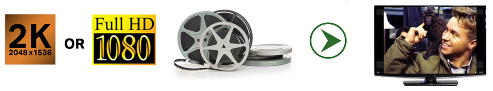 film transfer to digital for 8mm and 16mm film