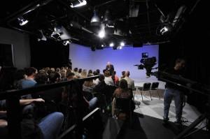 RMAVP video studio 1 with live audience
