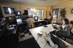 RMAVP video studio 1 control room